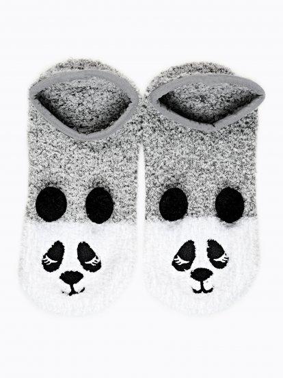 Kapcie panda