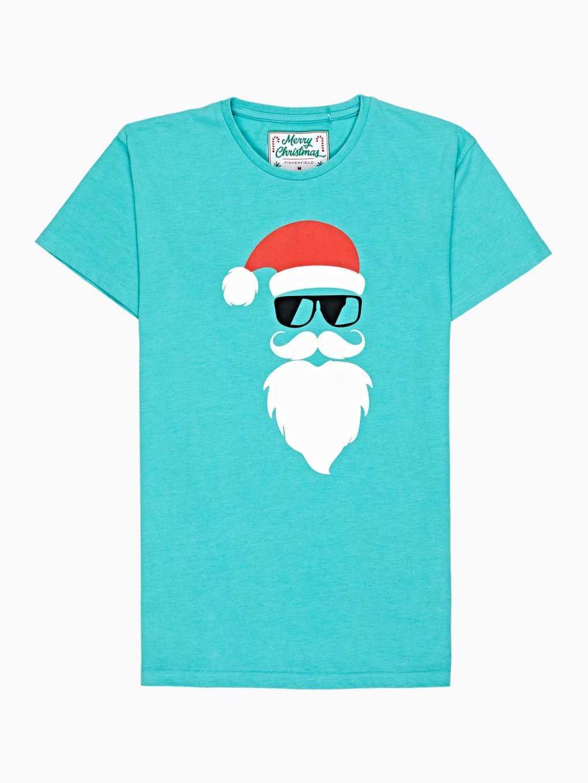 CHRISTMAS PRINT PYJAMA T-SHIRT