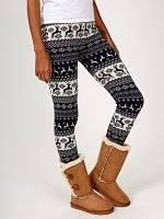 Jacquard leggings