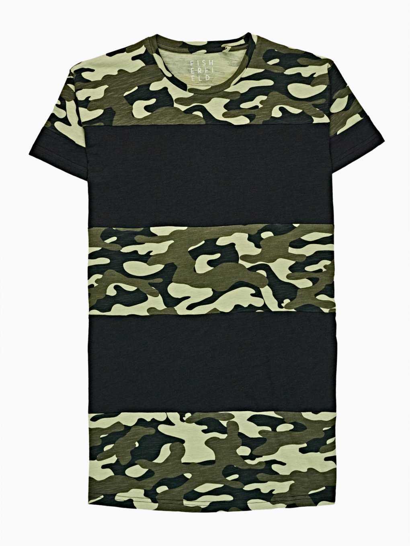 Tričko s maskáčovou potlačou