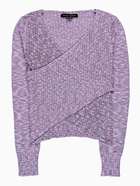 Sweter kopertowy