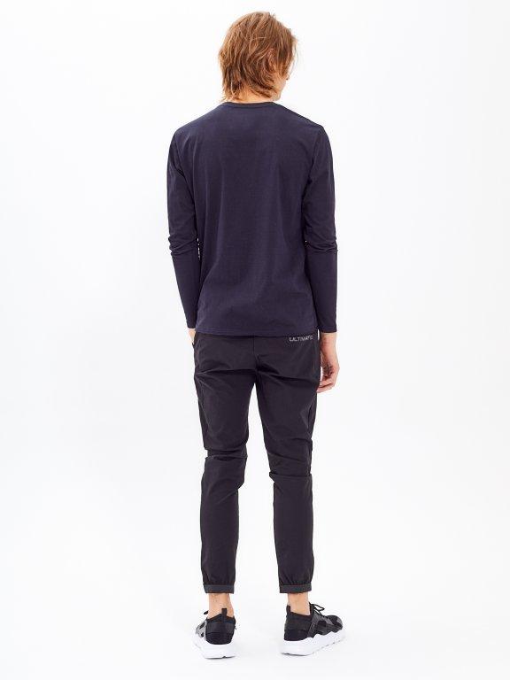 Nylon trousers