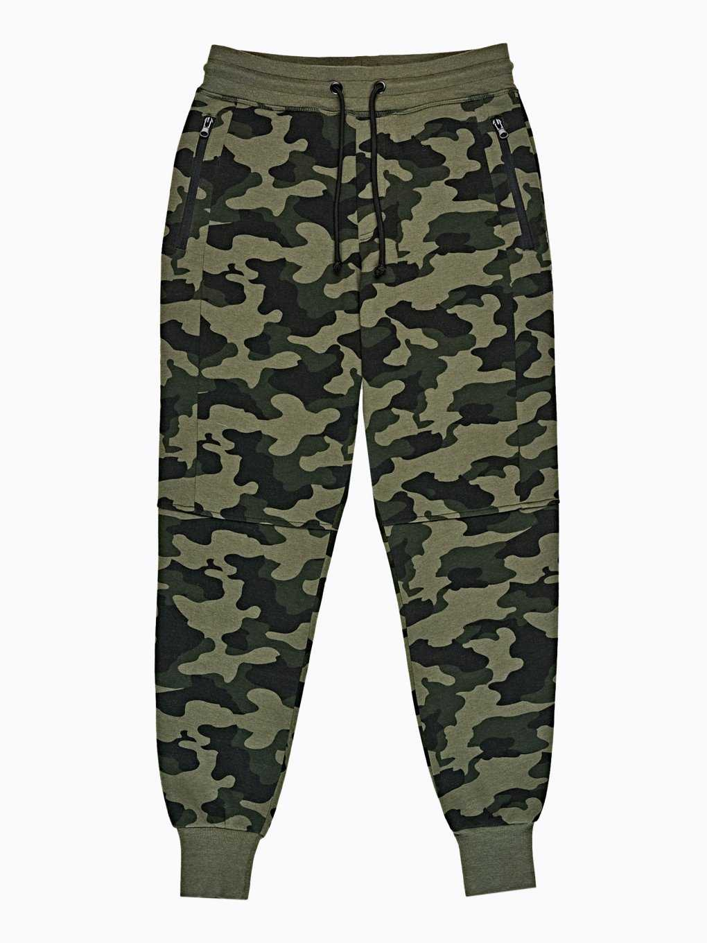 CAMO PRINT SWEATPANTS