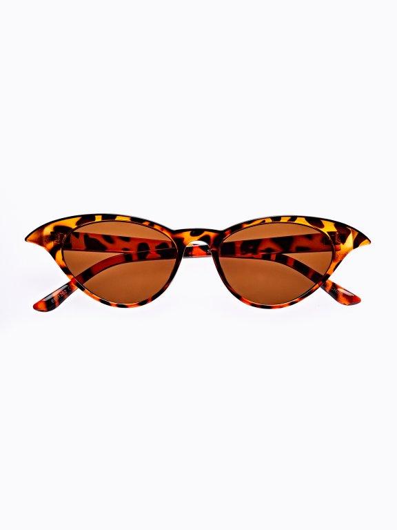 Okulary przeciwsłoneczne cat eye
