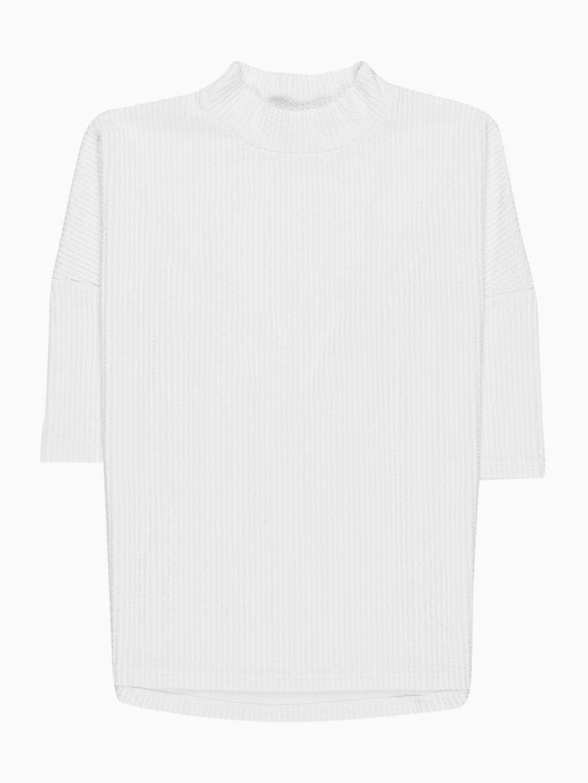 Oversized plain jumper