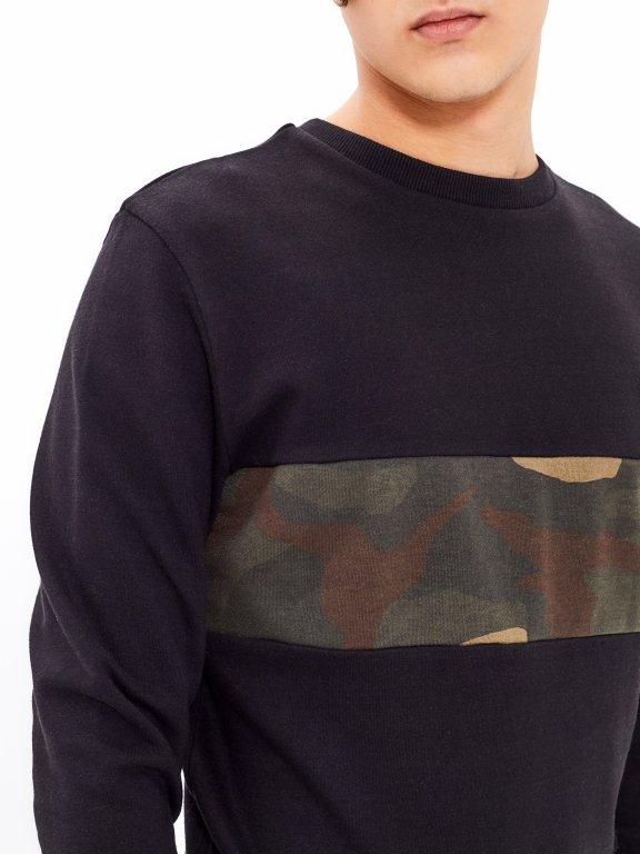 Bluza typu kamuflaż