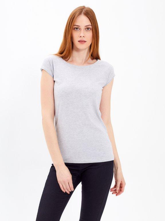 Basic dżersejowa koszulka