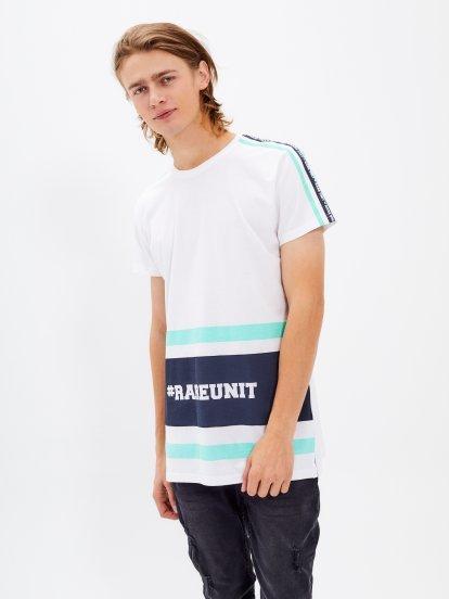 Tričko s bočným prúžkom