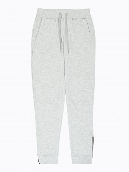 Ankle zip sweatpants