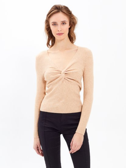 TWIST FRONT JUMPER
