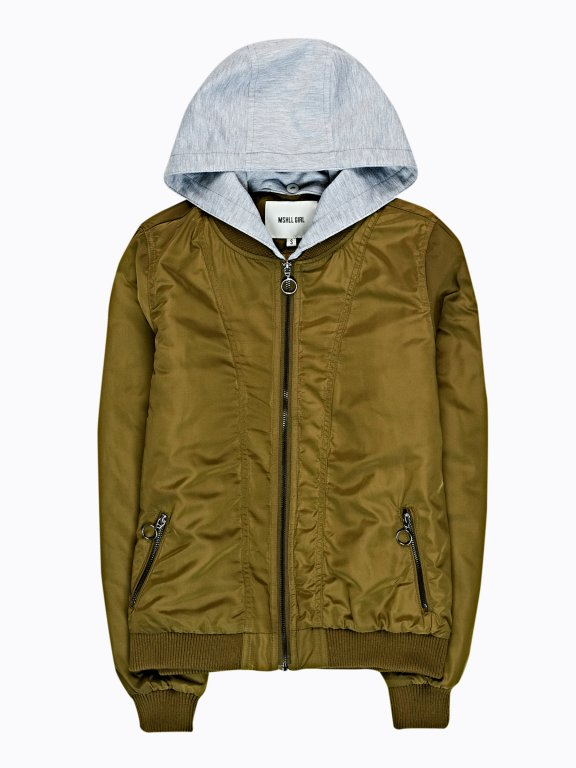 LIGHT PADDED BOMBER JACKET