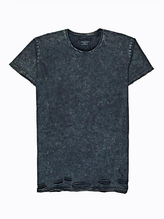 Distressed t-shirt