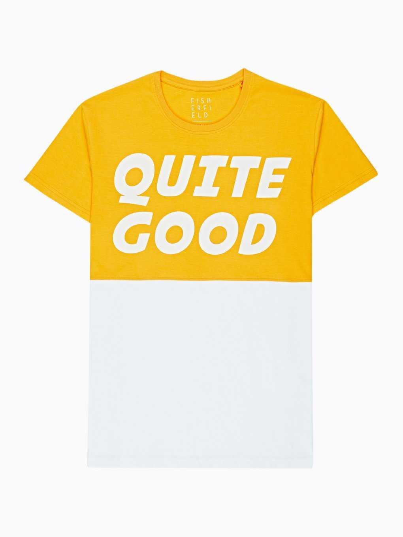 Viacfarebné tričko s potlačou
