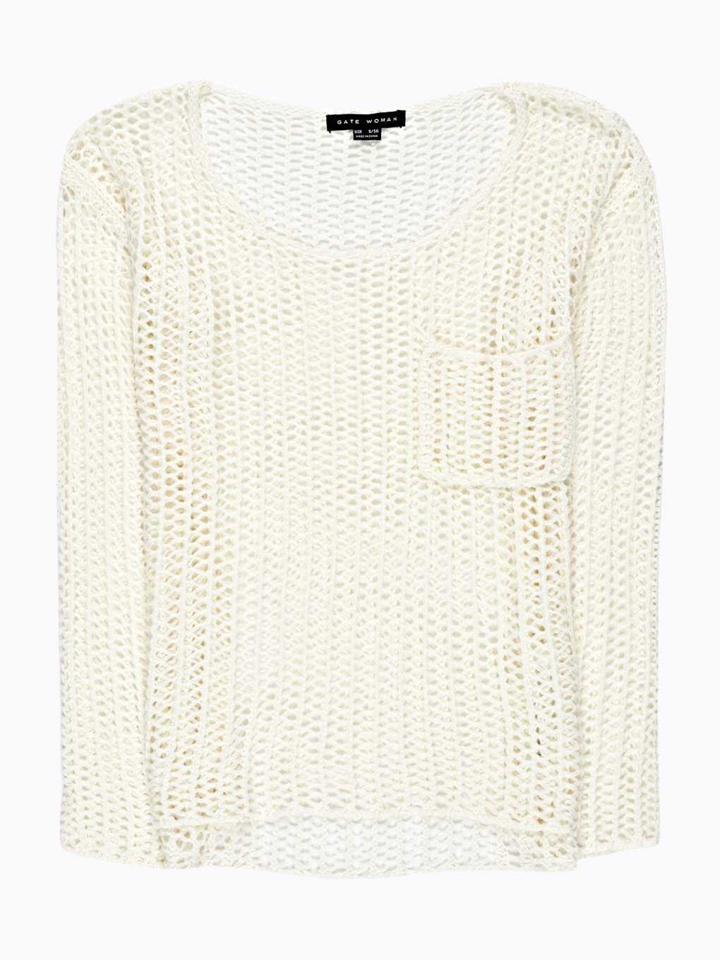 LOOSE-KNIT JUMPER WITH POCKET