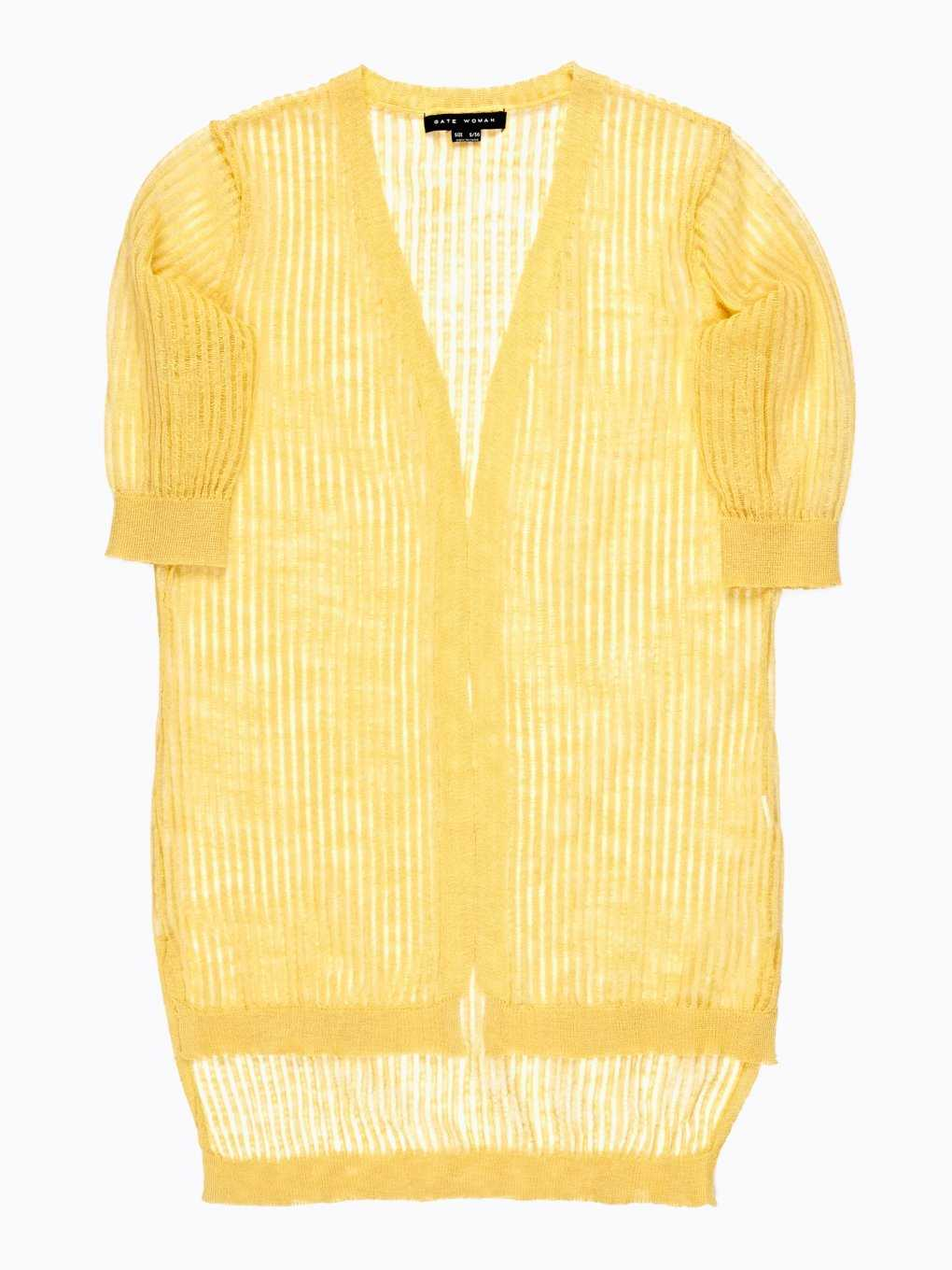 PROLONGED LIGHT CARDIGAN