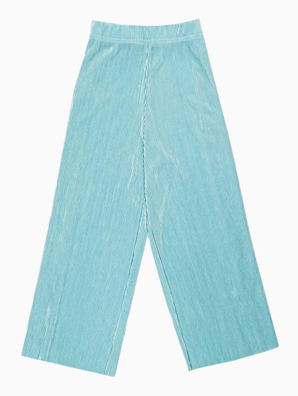 Skládaná kalhotová sukně