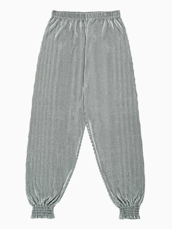 Pleated harem pants