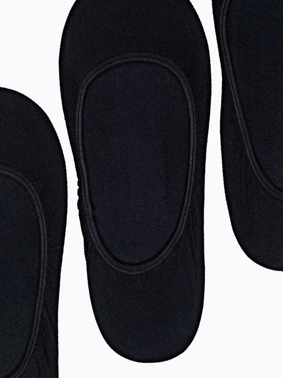 3-pack basic seamless footies