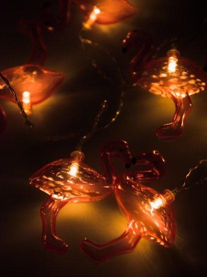 Svetelná reťaz plameniaky