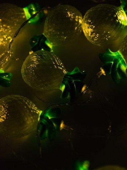 Led pineapple string light