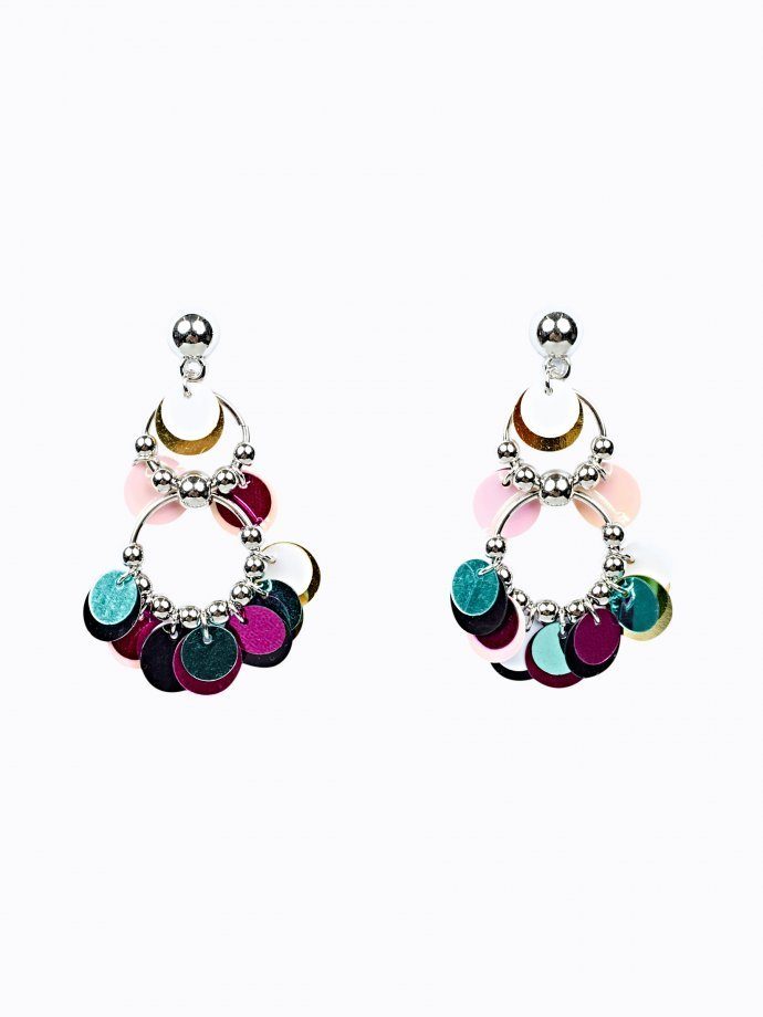 MULTICOLOUR SEQUIN EARRINGS
