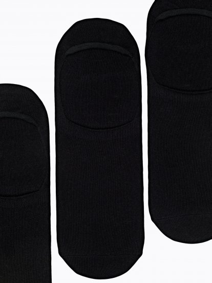 3-pack basic footies