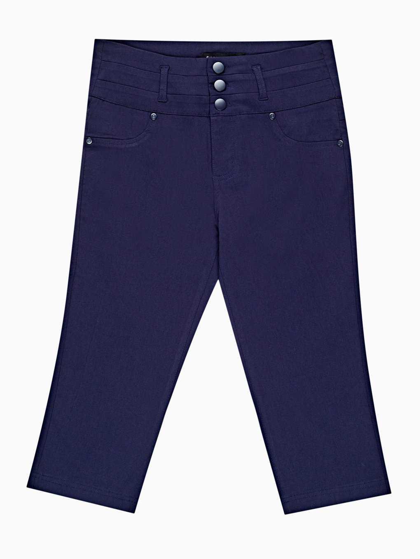 3/4 leg stretch trousers