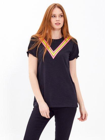 Dlhé tričko s potlačou
