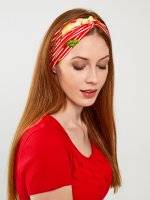 Elastic headdress