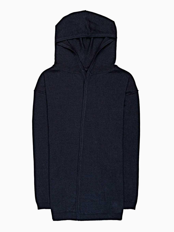 Kardigan s kapucí