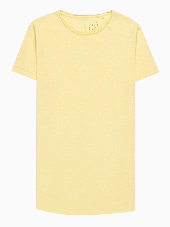 Jednoduché dlouhé žerzejové tričko