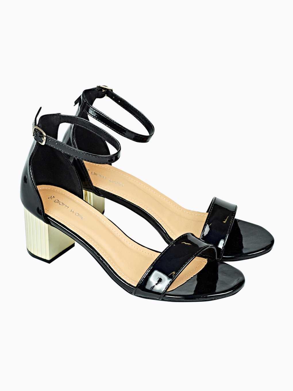 Sandále na širokém podpatku