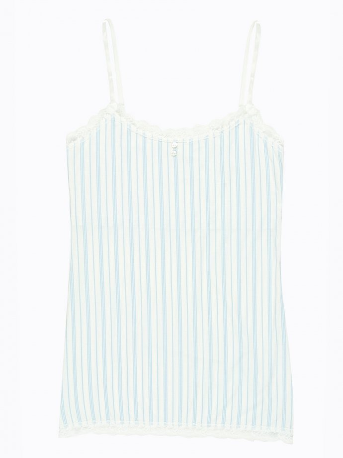 Striped  pyjama top