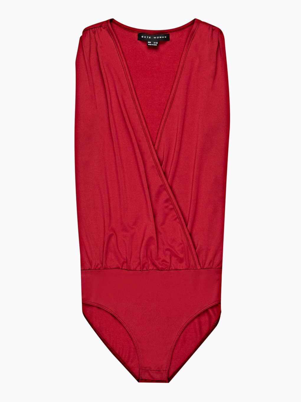 Wrap front bodysuit