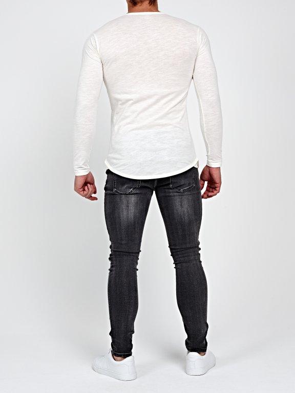 Koszulka z okrągłym dolnym brzegiem