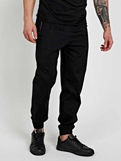 STRETCH JOGGER FIT TROUSERS