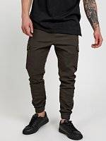 STRETCH JOGGER FIT TROUSERS WITH POCKETS