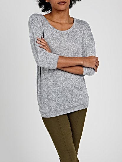 T-SHIRT WITH 3/4 SLEEVE