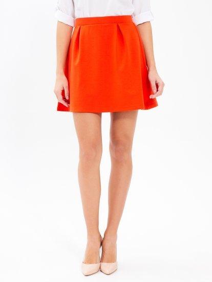 Jednoduchá áčková sukně