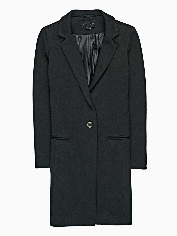 Single button coat
