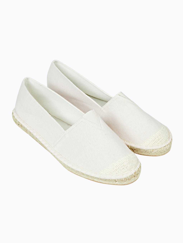Nazouvací boty z juty