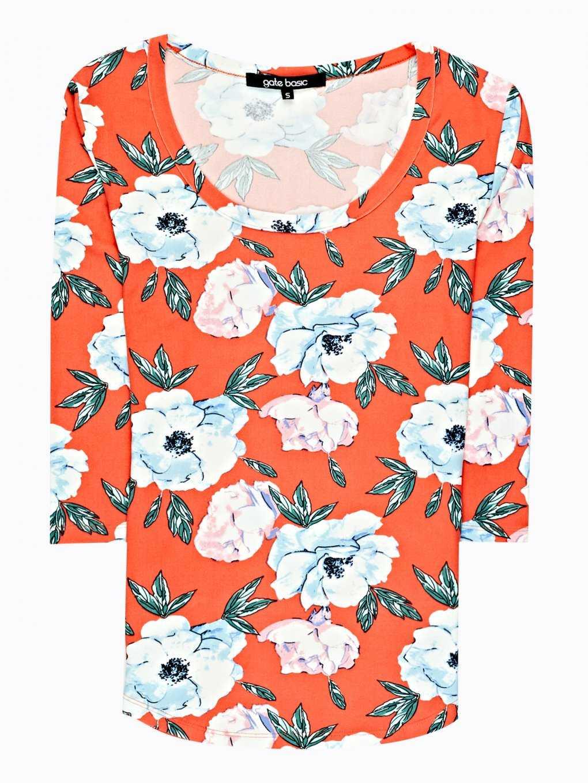 Floal print t-shirt
