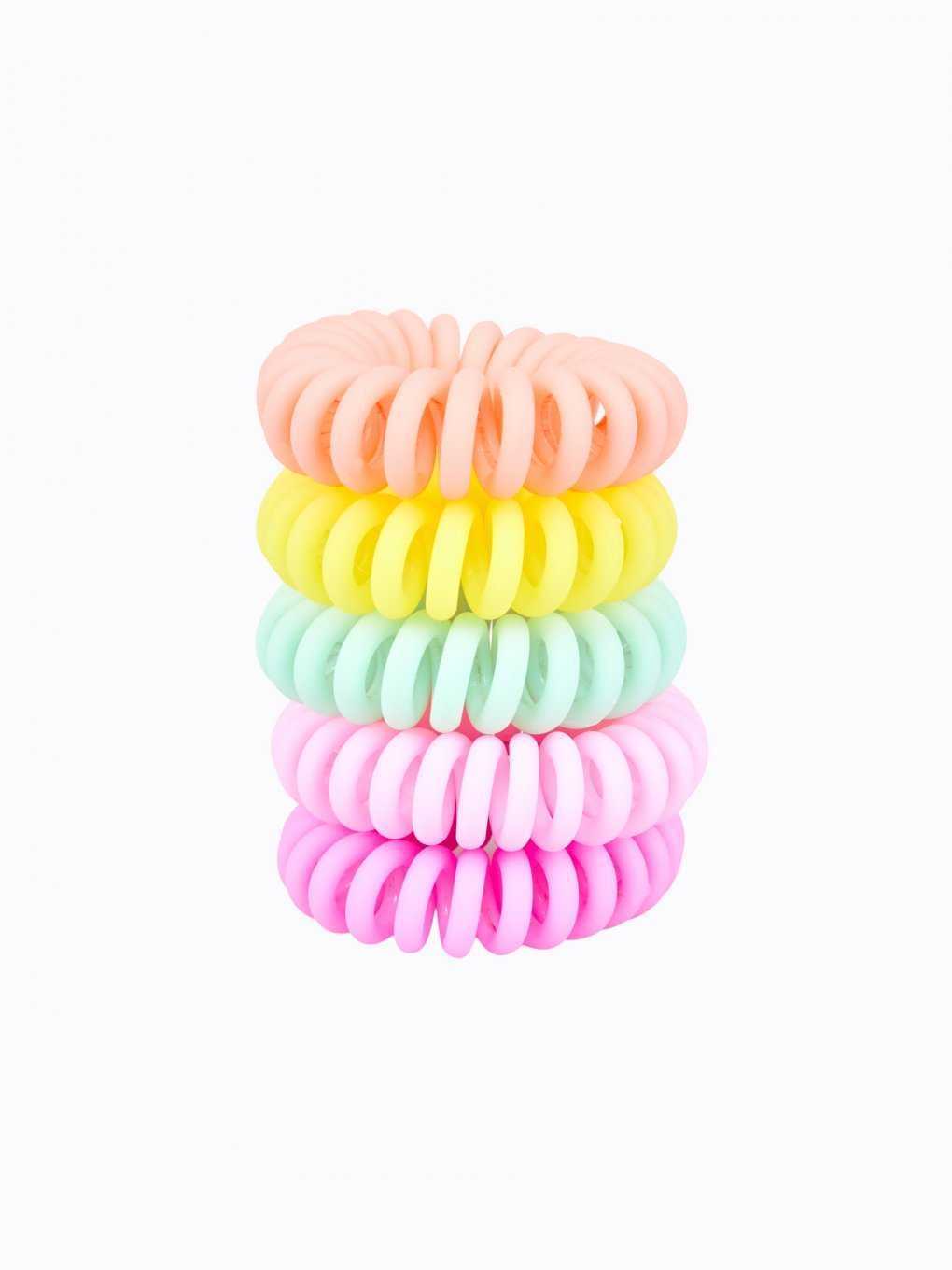 5-pack elastic rubber bands set