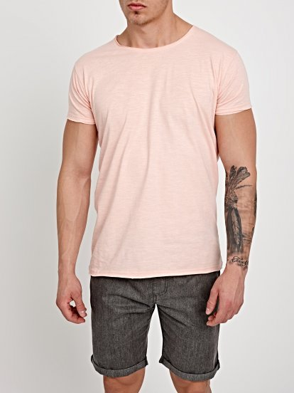 BASIC COTTON SLIM FIT T-SHIRT
