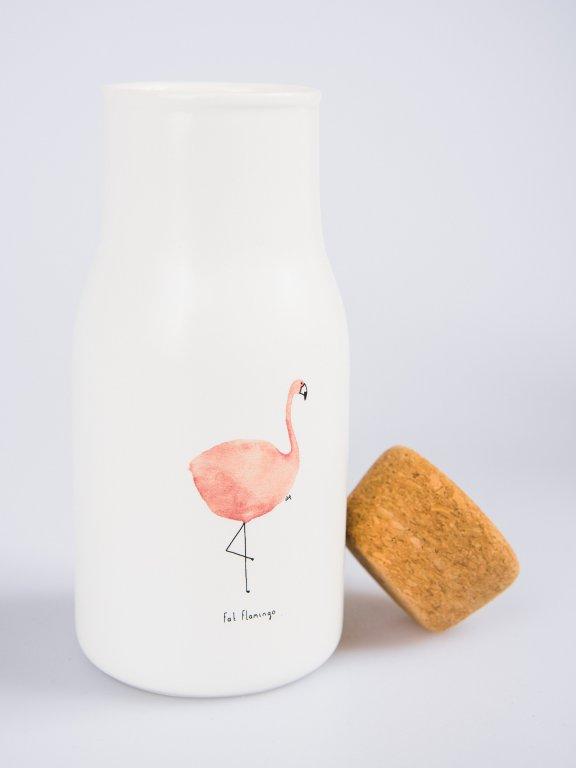 Ceramic bottle