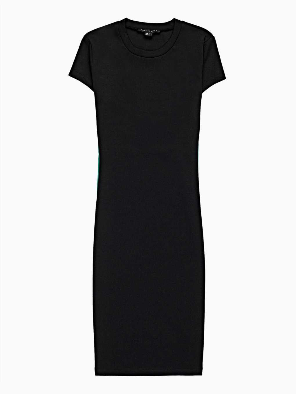 Taped bodycon dress