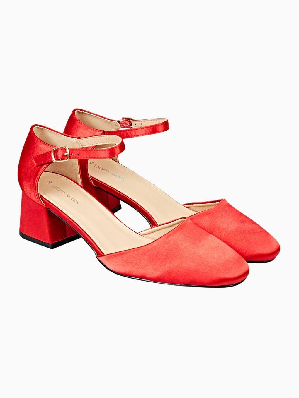 Topánky na blokovom podpätku