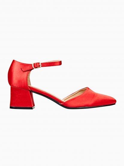 Boty na širokém podpatku