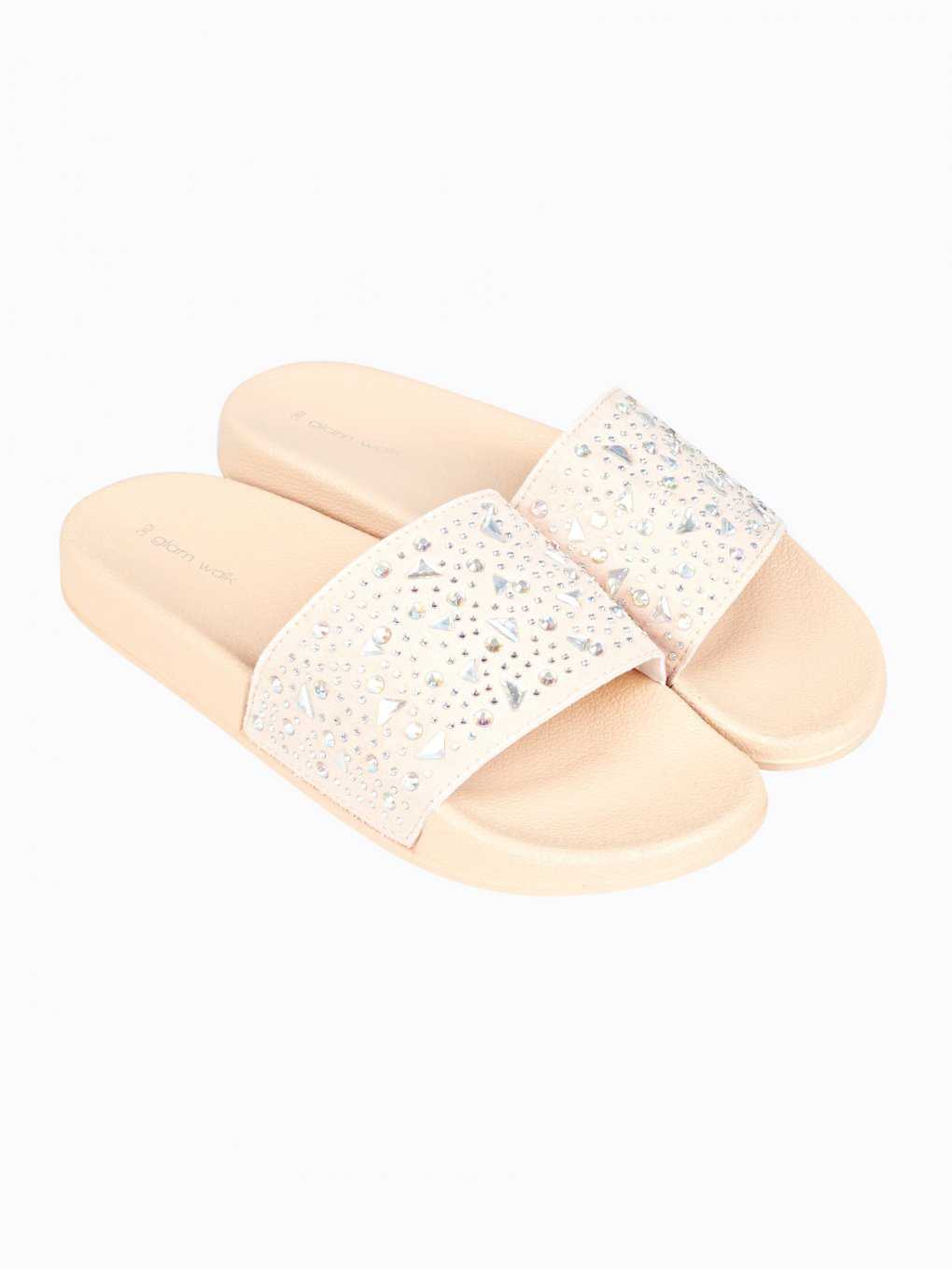 Flat slides with stones