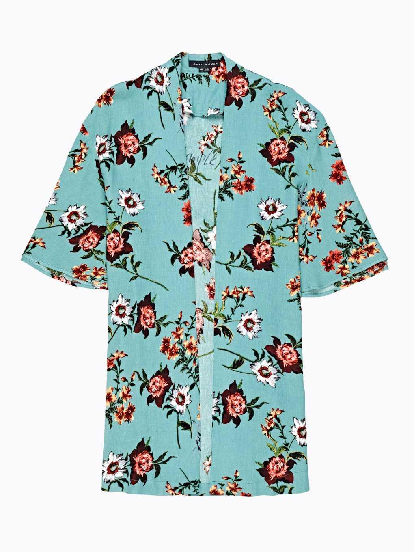 Kimono s květinovým potiskem